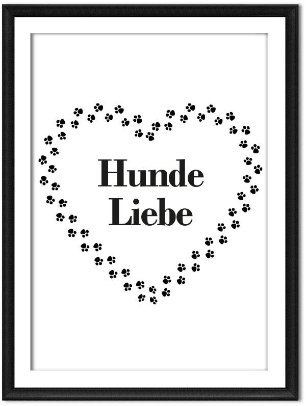 Printable Hundeliebe
