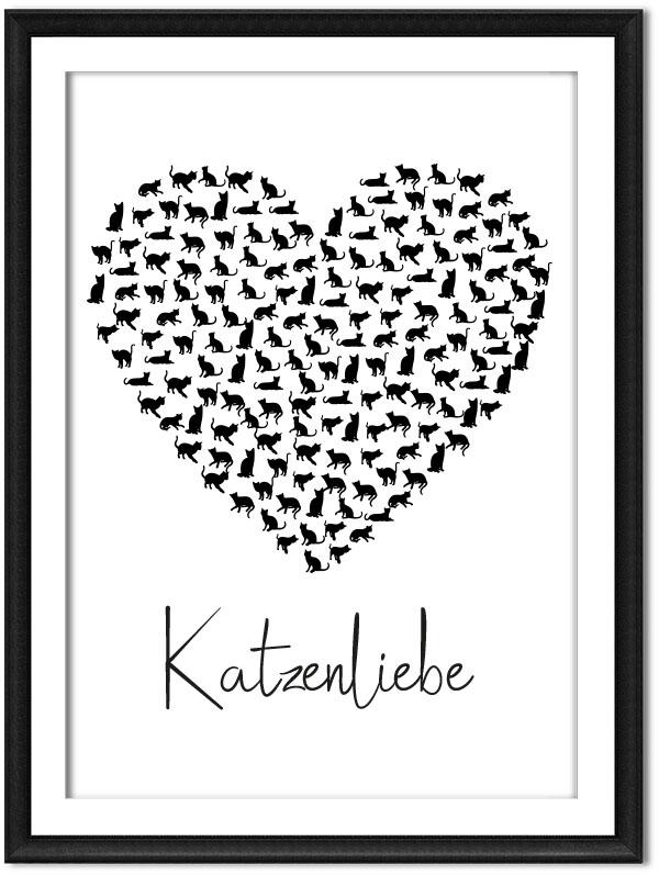 Printable Katzenliebe