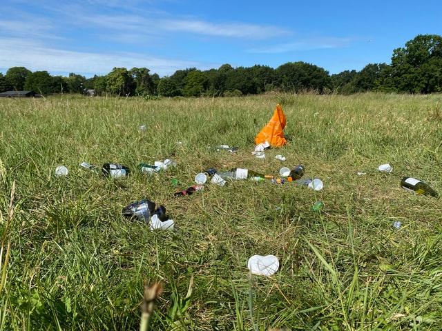 Plastik in der Natur