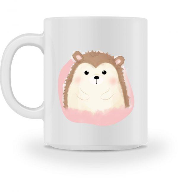 Tasse mit süßem Igel - Tasse-3