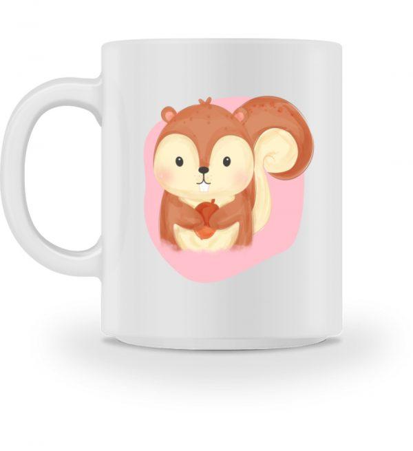 Tasse mit süßem Eichhörnchen - Tasse-3