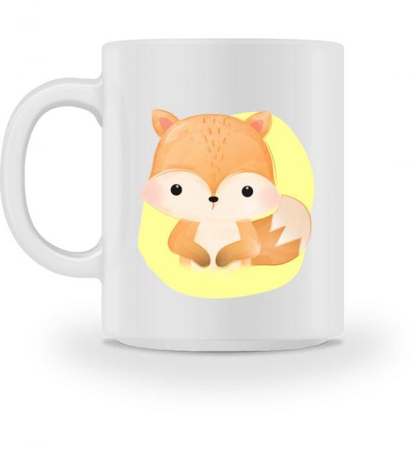 Tasse mit süßem Fuchs - Tasse-3